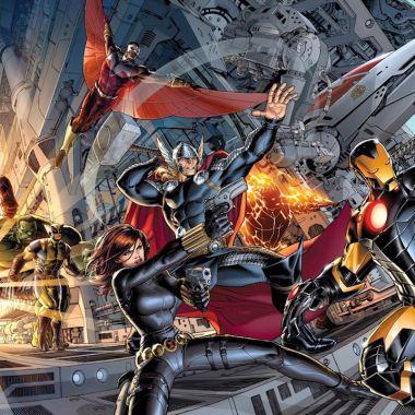 Foto Cómics Avengers 25 Abril 2019