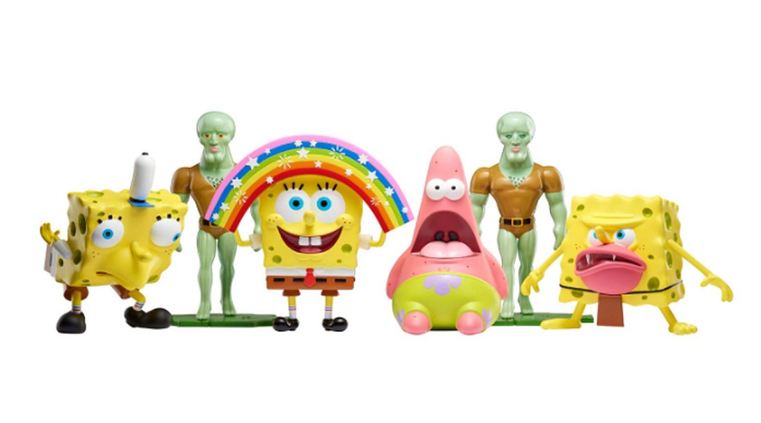 Resultado de imagen para bob esponja juguetes de memes