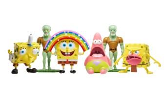 Bob Esponja, Memes, Figuras, Nickelodeon