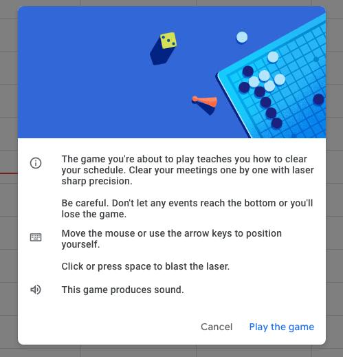 Google Calendar, Space Invaders, App, Juego