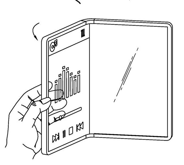 LG transparente plegable