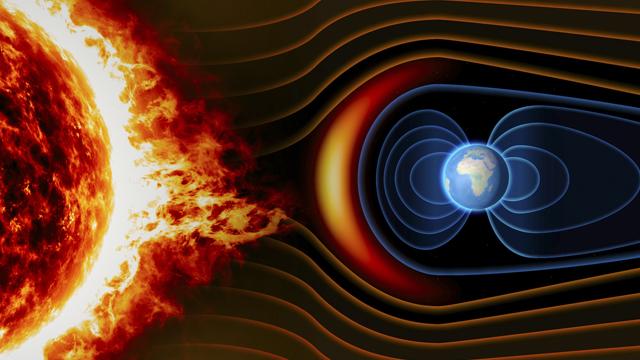Sol, Campo Magnético, Magnetismo, Tierra