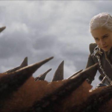 Foto Daenerys Dragon Kings Landing 14 Mayo 2019