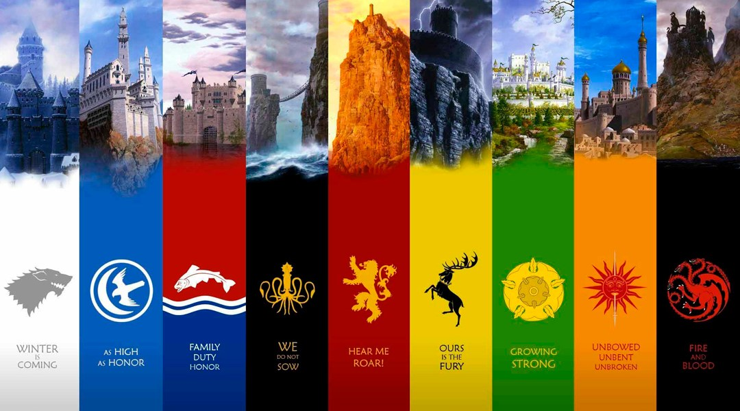 Game of Thrones, Heráldica, Escudos, Bacteria