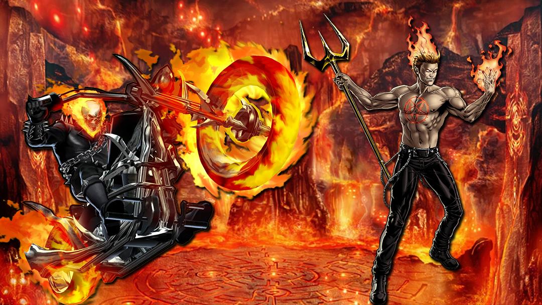 Ghost Rider, Helstrom, Marvel, Serie