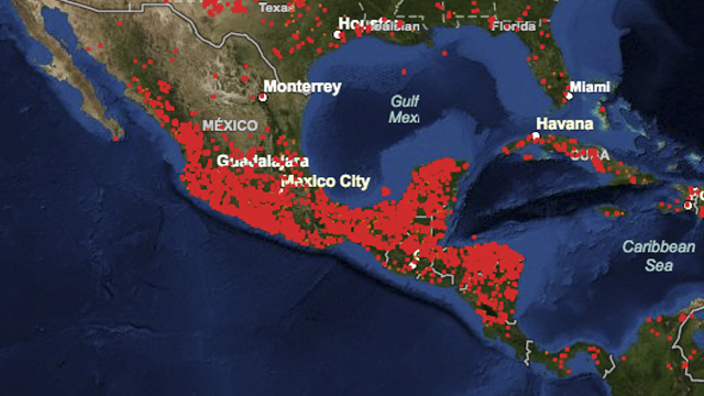 México, Incendios, NASA, Satélites
