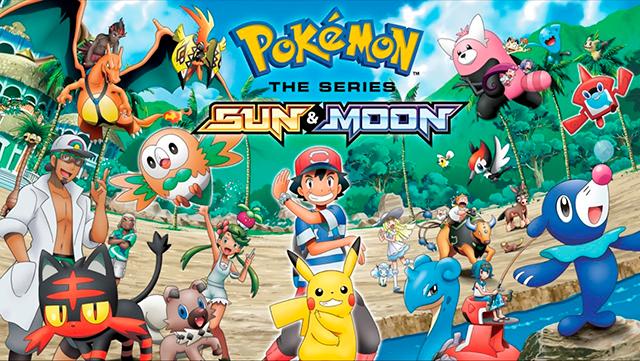 pokemon sol y luna animación