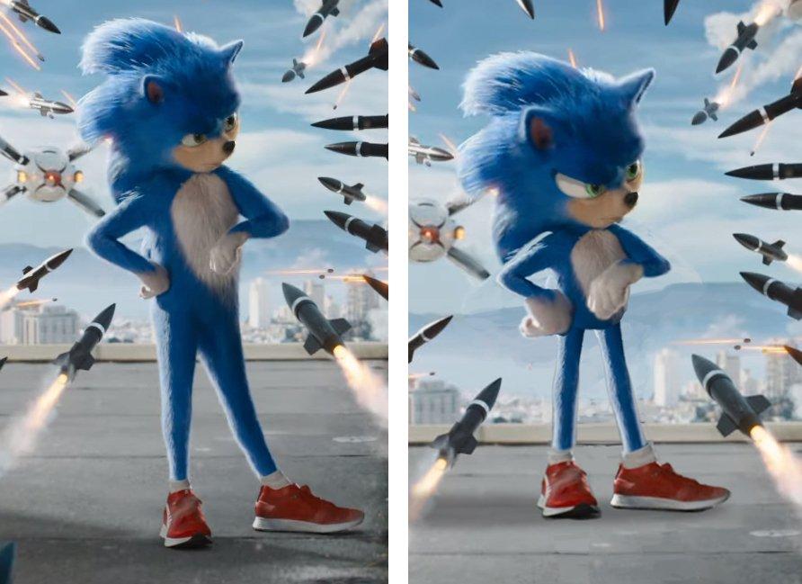 Sonic, Hedgehog, Película, Tráiler