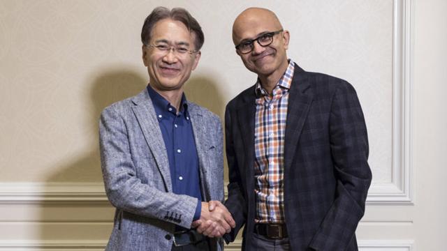 Sony, Microsoft, Google, Stadia