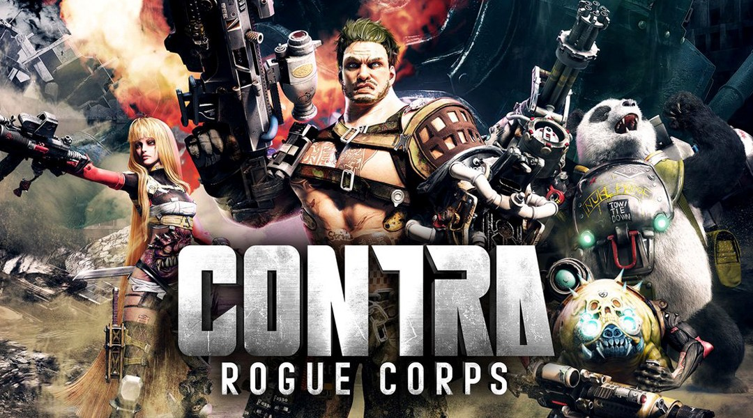 Contra, Rogue Corps, Konami, Nintendo E3