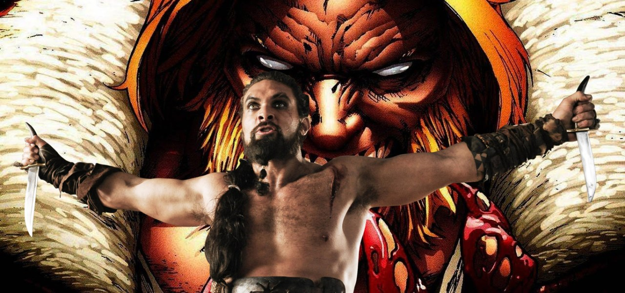 34fea638c0e Quiere ser Wolverine, fanart de Jason Momoa como Sabretooth