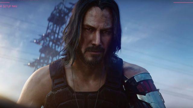 Keanu Reeves, Cyberpunk 2077, E3, Juego