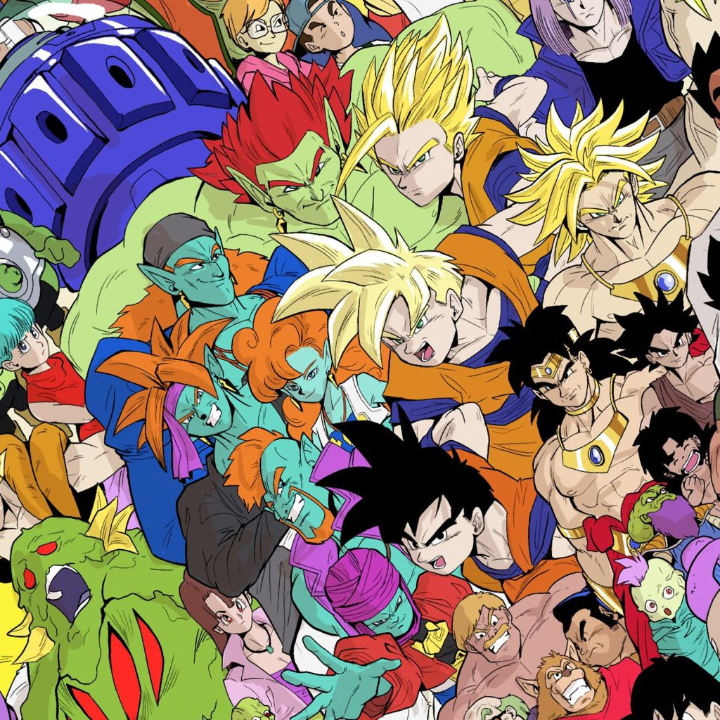 Dragon Ball, Personajes, Dibujo, Super