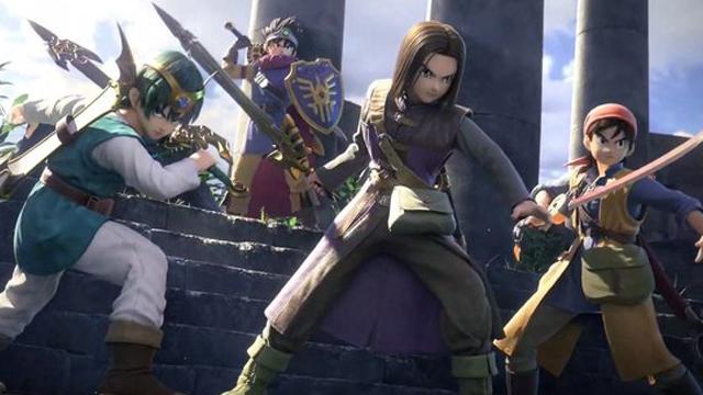 Super Smash Bros Ultimate, Dragon Quest, Personajes, Nintendo