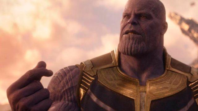 Avengers, Infinity War, Escena, Película