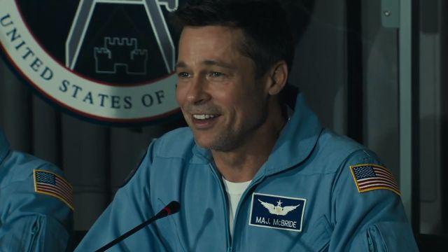 Brad Pitt en la nueva película Ad Astra