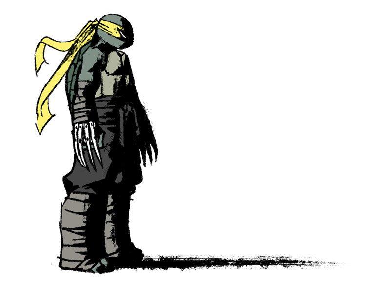 17/07/19 Tortugas Ninja, Jennika, Mujer, Armas