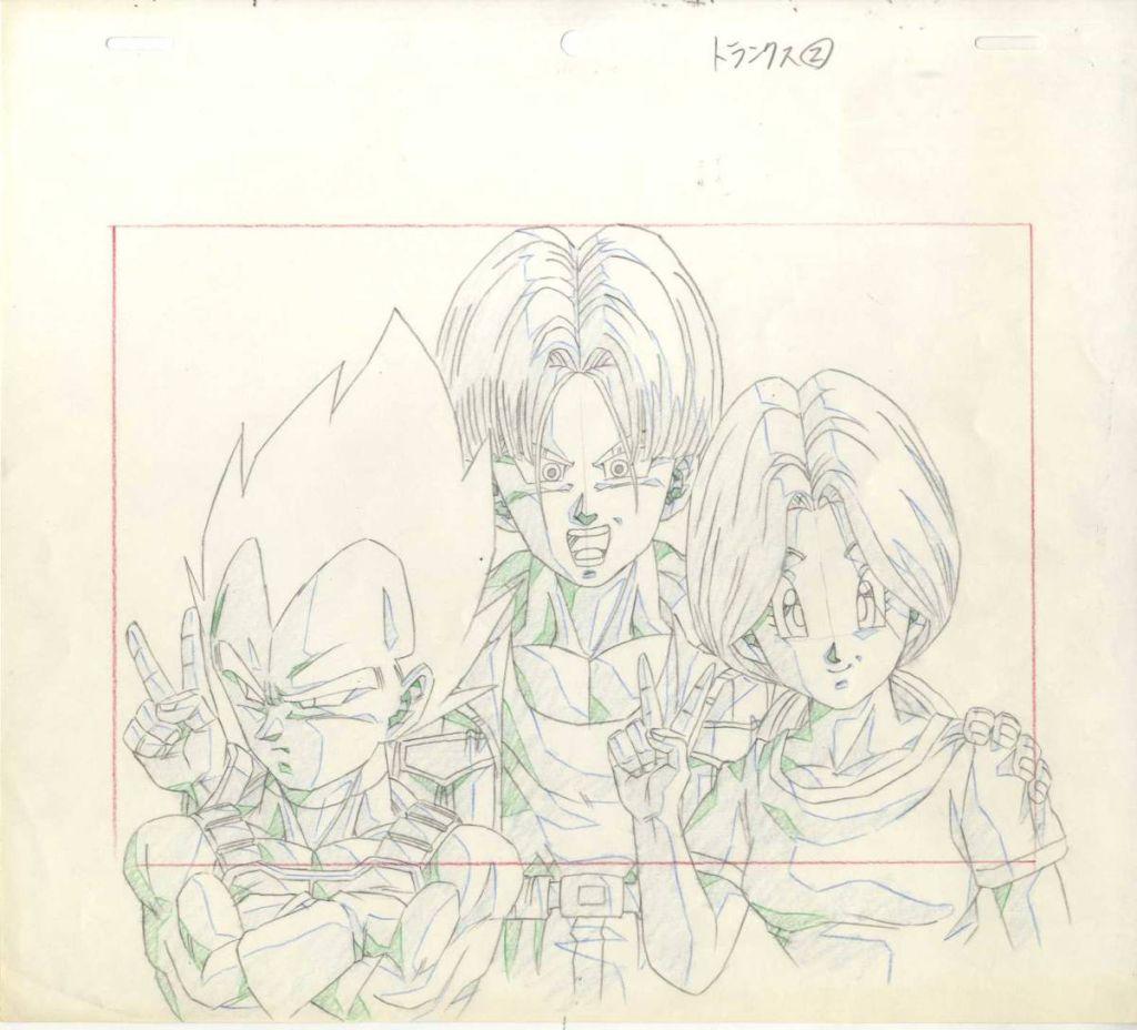 Dragon Ball, Naotoshi Shida, Vegeta, Dibujo