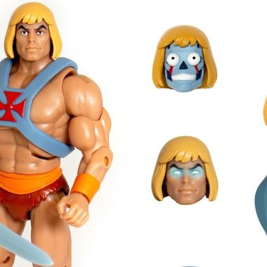 Figura de He-Man con espada gris