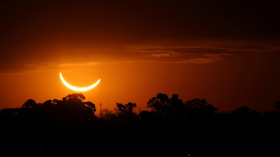Gran Eclipse Solar Sudamericano.