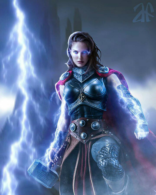 Natalie Portman Mighty Thor