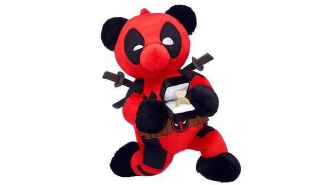01/08/19 Deadpool, Build A Bear, Osito, Peluche