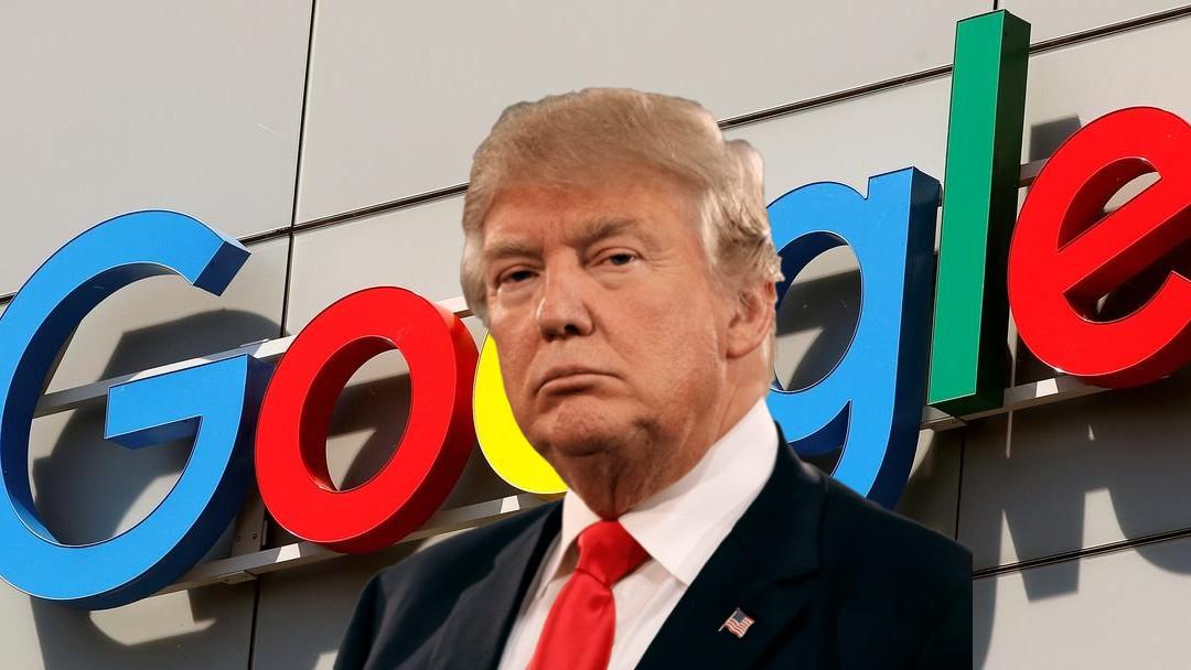 Donald Trump acusa a Google