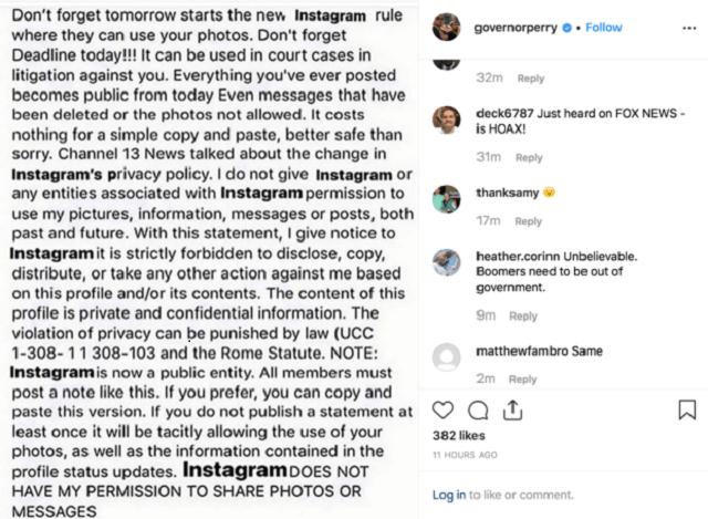 Instagram Fake