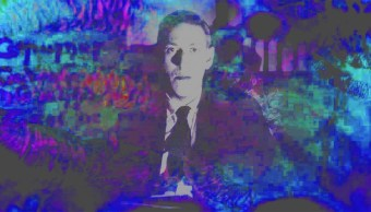 (HP Lovecraft a colores pastel)