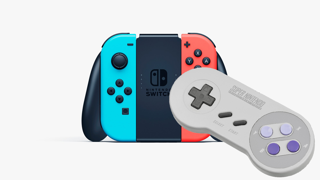 13/08/19 Nintendo, Switch, Control, Super Nintendo