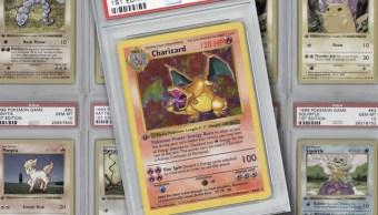 12/08/19 Pokémon, Cartas, Subasta, Charizard