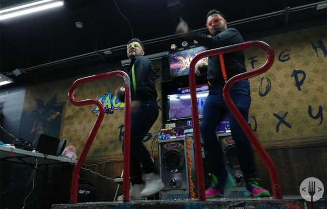 competidores del torneo de Pump it up