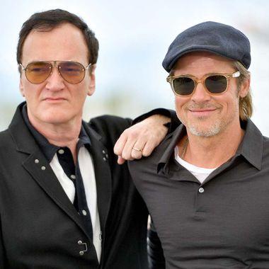 Quentin Tarantino Brad Pitt