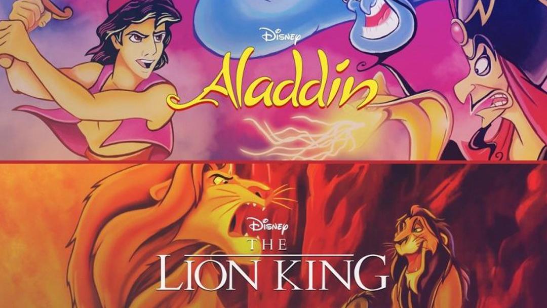 28/08/19 Rey León, Aladdin, PlayStation 4, Xbox One