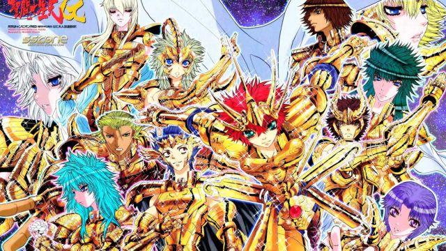 29/08/19 Saint Seiya, Caballeros Zodiaco, Episodio G, Manga