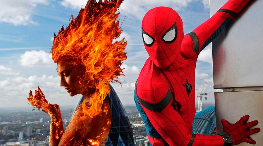 23/08/19 Spider Man, Dark Phoenix, Sony, Marvel