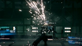 12/09/19, Final Fantasy VII, Remake, Gameplay, PS4