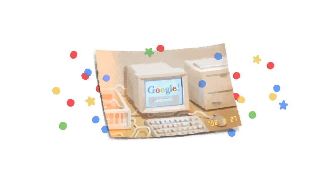 Google Doodle 21 Aniversario