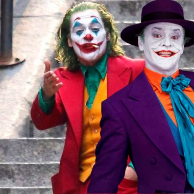 06/09/19, Joker, Joaquin Phoenix, Jack Nicholson, Todd Phillips