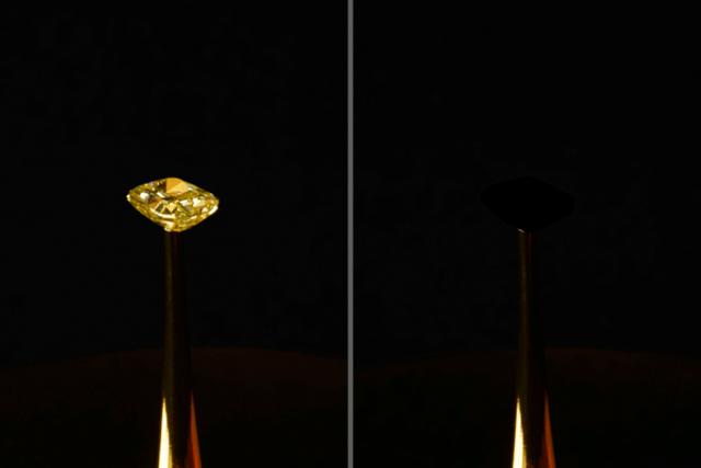 Equipo del MIT inventó el material más negro del mundo por accidente