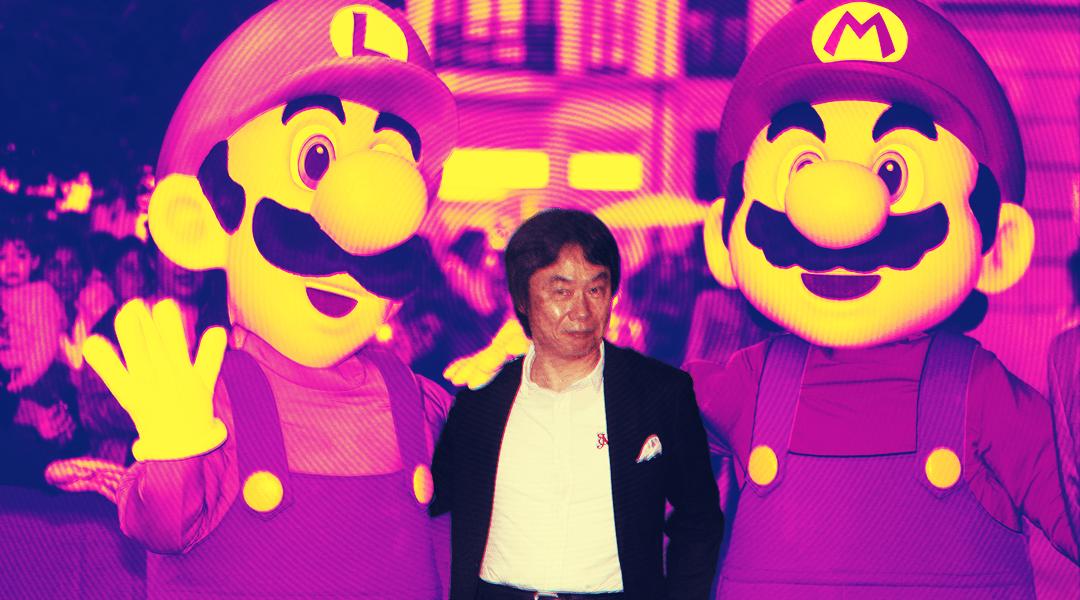 23/09/19, Shigeru Miyamoto, Super Mario Bros, Nintendo, Juegos