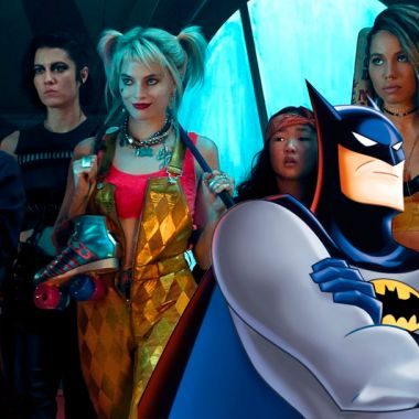 01/10/19, Birds of Prey, Batman, Serie Animada, Easter Egg