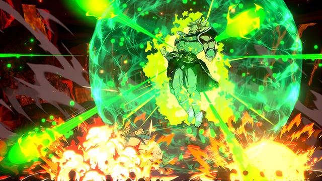 Broly de Dragon Ball FighterZ