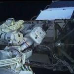 Caminata espacial femenina