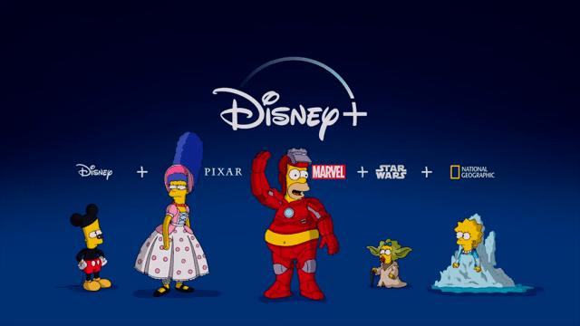 Los simpson Disney Plus