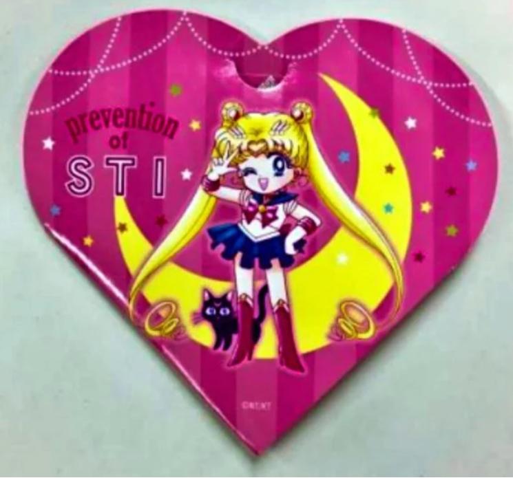 06/10/19, Sailor Moon, Enfermedades Transmisión Sexual, Condón, Japón