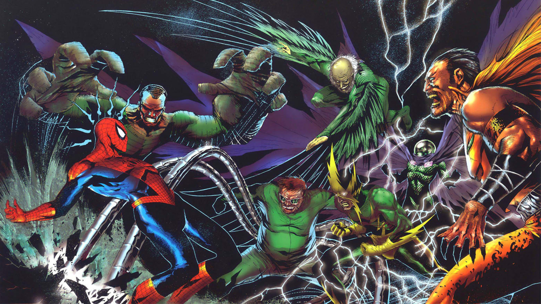 07/10/19, Sinister Six, Spider Man, Marvel, MCU