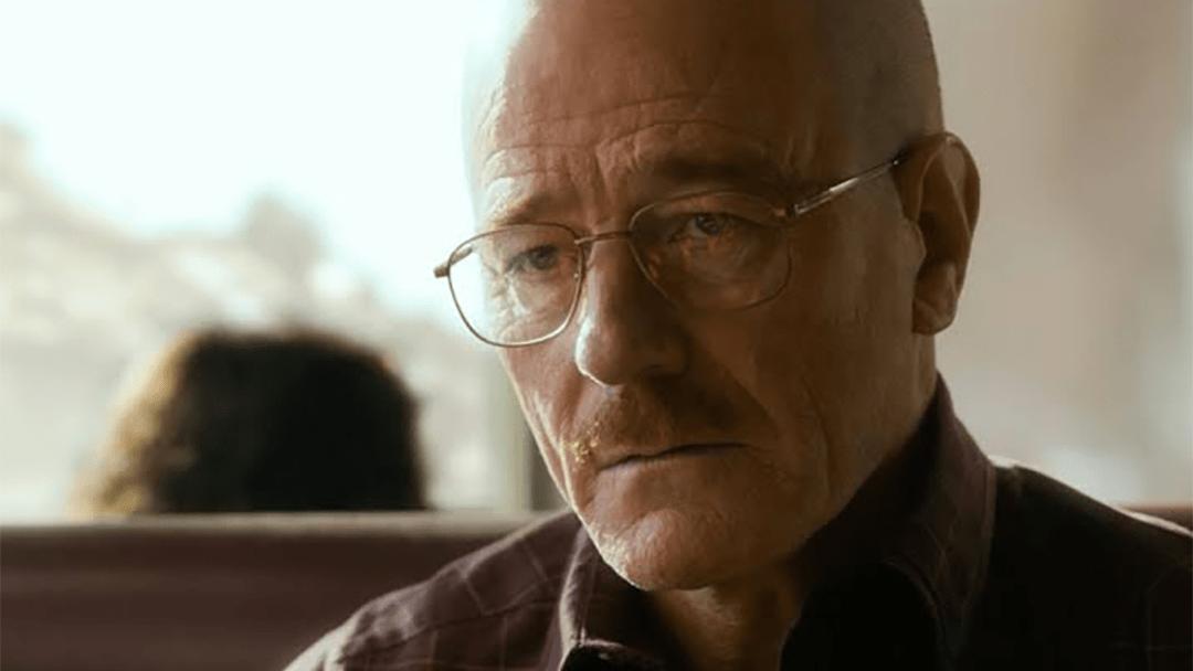 Bryan Cranston como Walter White en El camino