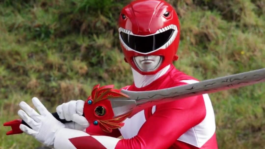 Power Ranger rojo viene a la CDMX