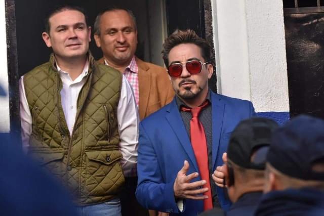 Iron Man Policía México